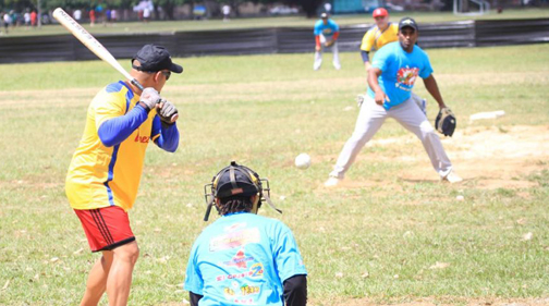 Latinos bring softball (baseball) to TT