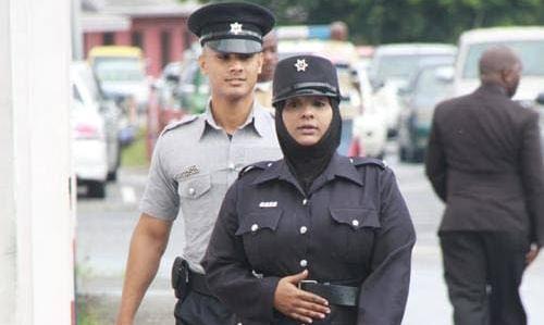 Trinidad hijab-wearing cop get compensation