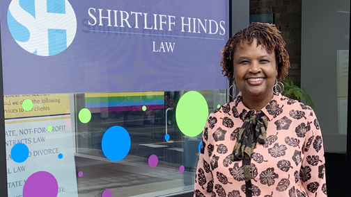 Carol Shirtliff-Hinds is one tough woman in a tough profession