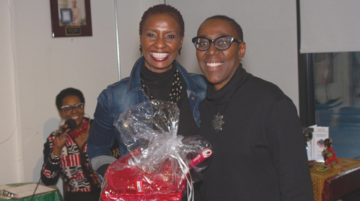 Andria Henry takes gold in Black Cake Contest