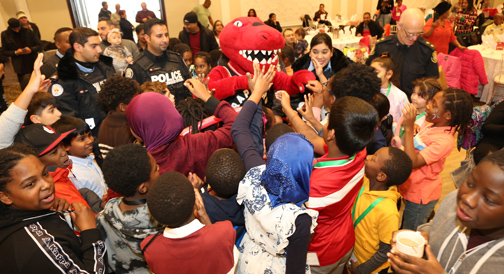 Etobicoke Youth Children's Christmas Party was blast