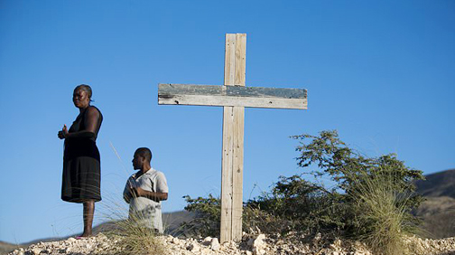 Haitians remember victims of massive earthquake 10 years on