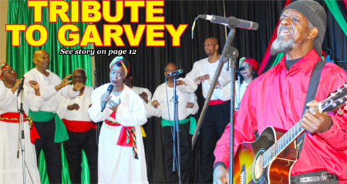 Jamaicans celebrate the life of Marcus Garvey  at Boonoonoonoos