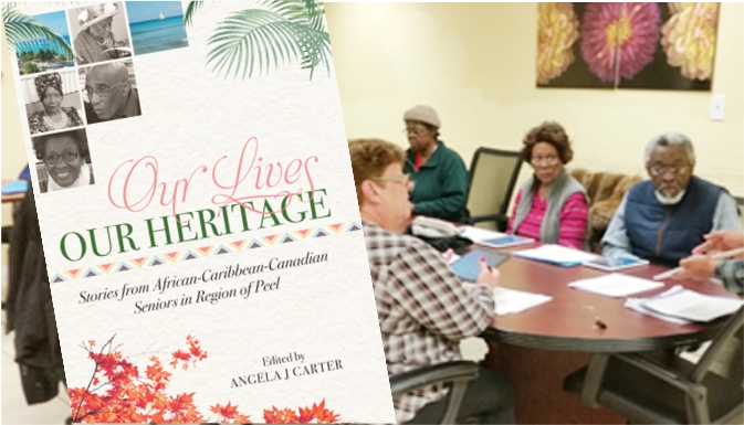 Book of seniors' stories produced by Roots