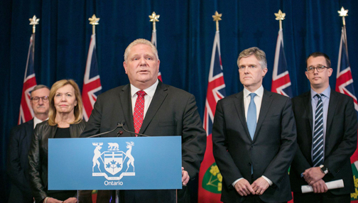 Ontario extends state of emergency