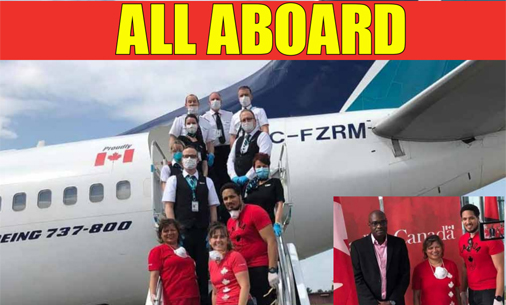 Hundreds of Canadians fly back home  from Guyana