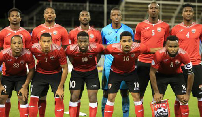 Trinidad and Tobago sinks to 105th  in FIFA rankings