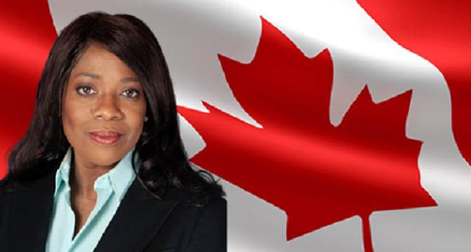 Black woman runs for leadership of Conservative Party