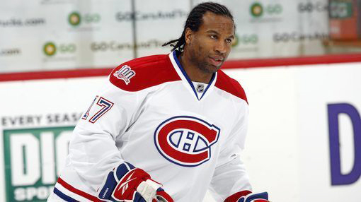 Former NHL enforcer Georges Laraque hospitalized  with COVID-19