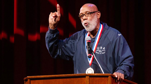 Olympian John Carlos leads US call for scrapping  of protest ban