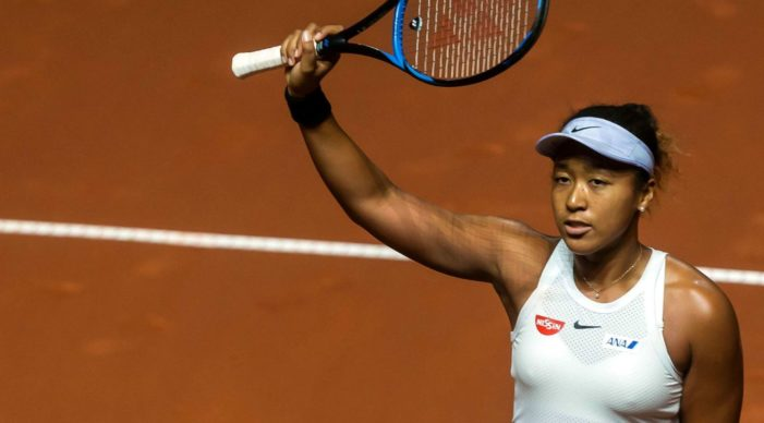 Japanese-Haitian tennis star Naomi Osaka is the highest-paid female athlete
