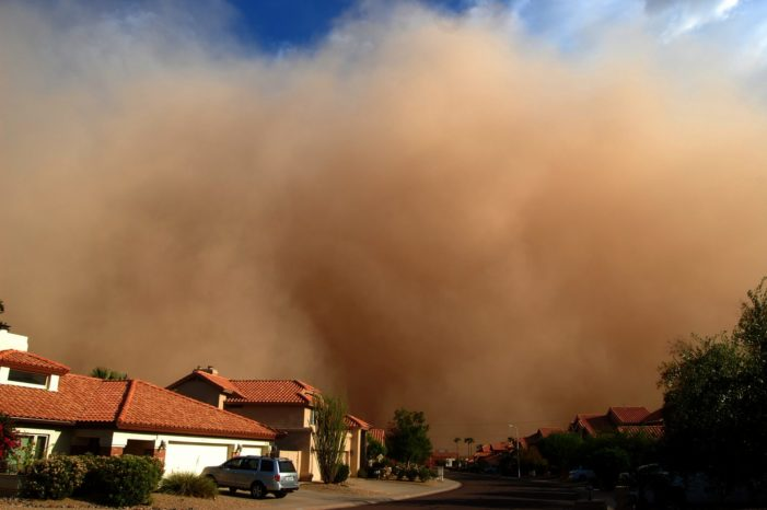 WMO warns of effects of Saharan dust on the Caribbean