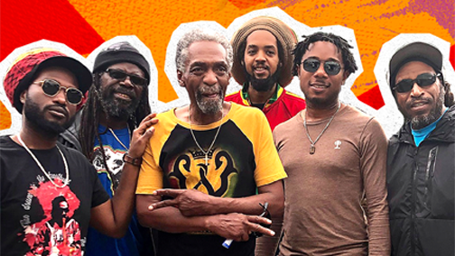 New record by The Wailers soars  in the charts