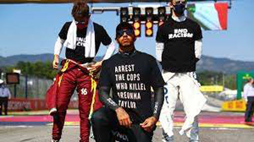 FIA investigating Hamilton for Breonna Taylor T-shirt -report