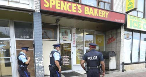 Six persons shot outside bakery in 'Little Jamaica'