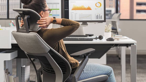 Making your home office posture friendly