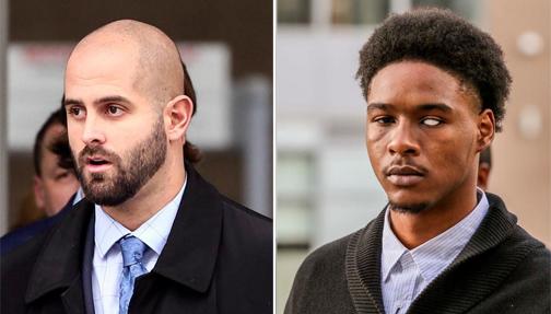 Off-duty policeman sentenced to nine months in jail  in assault of Black man