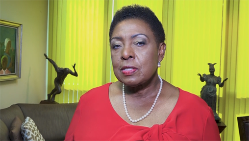 Don't turn a blind eye to violence against women and girls, urges Jamaica's gender minister